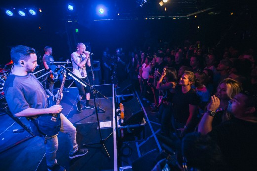 Linkin Park perform in the Red Bull Sound Space at KROQ